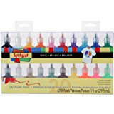 I Love To Create Scribbles 3D Fabric Paint 1oz 20/Pkg-