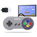 MENEEA Wired Game Controller for Nintendo Super NES Classic Edition SNES NES Classic Mini