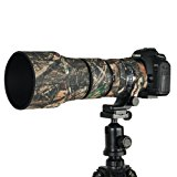 Mekingstudio Camera Lens Cover Protective Lens Coat for Sigma 150-600mm C - Forest Green Camo