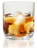 Vivocci Unbreakable Tritan Plastic Rocks 12.5 oz Whiskey & Double Old Fashioned Glasses   Thumb Indent Base   Ideal for Bourbon & Scotch   Perfect For Homes & Bars   Dishwasher Safe Barware   Set of 4