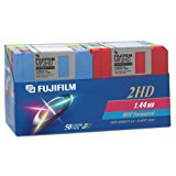 Fujifilm 3.5in. High Density Floppy Disk - IBM Formatted (50-Pack, Assorted Colors) (Discontinued by Manufacturer)