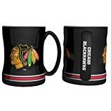Boelter Brands - Chicago Blackhawks Coffee Mug - 14oz Sculpted
