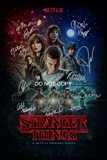 "Stranger Things CAST Reprint SIGNED 12x18"" Poster ALL 10 #1 RP Netflix TV Show"