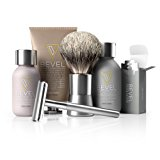 Bevel Shave System. Safety Razor, Creams and 20 Blades. Clinically Tested to Help Prevent Razor Bumps