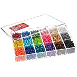 Beadery Bead Extravaganza Bead Box Kit, 19.75-Ounce, Pearl