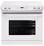 "Frigidaire FFED3025LW30"" White Electric Smoothtop Range"