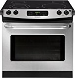"""Frigidaire FFED3025PS 30"""" Stainless Steel Electric Drop-In Smoothtop Range"""