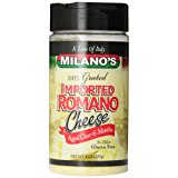 Milano's 100% Imported Romano Cheese Jar, 8 Ounce
