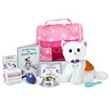 Doll Pet, Complete 11 Piece ASPCA Kitten Set   Perfect Cat for 18 Inch Dolls, ASPCA Adopt-A-Pet Cat