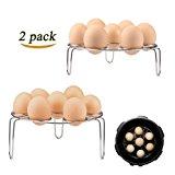Lakatay 2-Pack Egg Steamer Rack Trivet for Instant Pot Pressure Cooker Accessories