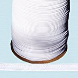 "Piping Cord ~ 3/8"" Piping Cord -1/8"" Filler Cord WHITE (10 Yards / Pack)"