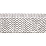 10 Yard Value Pack of White 2.5 Inch Bullion Fringe Trim, Style# EF25 Color: A1 (30 Ft / 9.5 Meters)