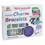 LolliBeads (TM) Make Charm Bracelets Kits 800 + pcs Premium Bracelet Jewelry Making Kit Arts and Crafts for Girls Best Birthday/Christmas Gifts/Toys/DIY for Kids Friendship Bracelets Maker