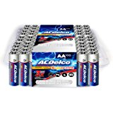 ACDelco AA Batteries, Super Alkaline AA Battery, Bulk Pack, 100 Count
