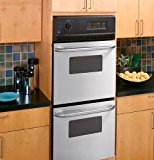 """GE JRP28SKSS 24"""" Stainless Steel Electric Double Wall Oven"""