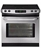30 In. Drop-in Electric Range – Stainless Steel