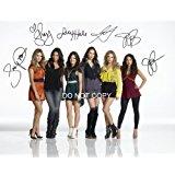 Pretty Little Liars gorgeous cast reprint signed 11x14 poster photo #1 RP