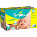 Pampers Swaddlers Size 2 Diapers 132 ct Box