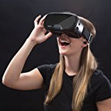 Tzumi Dream Vision Virtual Reality Smartphone Headset, Retracteable Built-in Ear Buds,fits all phones up to 6 inch, 360 Video Capability, Lightweight with high durability, Works with all VR apps. Blk