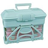 ArtBin 6994AA Solutions Cabinet Art and Craft Storage Box, Aqua