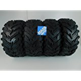 MassFx MS ATV/UTV Tires 26 x 9-12 Front & 26 x11-12 Rear, Set of 4 26x9x12 26x11x12