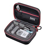 Smatree SMACASE-G75-BR Carrying Case for Gopro Hero 5/4/3+/3/2/1 (Black & Red)
