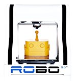 """Robo R1+ ABS/PLA Assembled 3D Printer, Big Build Volume 8""""x9""""x10"""", Easy to Use, Open Source, Same Features - Better Price, Amazon Exclusive"""