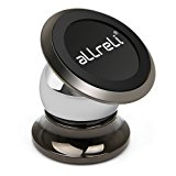 Universal Magnetic Car Mount, aLLreLi Phone Car Holder New Version for iPhone 7, 6, 6S, 6 Plus, 6S Plus, iPhone 5, 5S, Galaxy S5, S6, S7, S6, Note 3, 4, 5, Fits All Smartphones