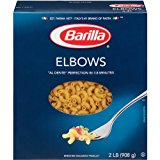 Barilla Pasta, Elbows, 32 Ounce (Pack of 8)