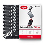 Sugru Moldable Glue - Original Formula - Black 8-Pack