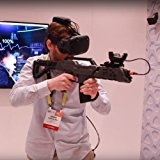 VR Gun Game Controller Compatible with HTC VIVE,Virtual Reality VR Headset Device for FPS Shooting Game Gun Joysticker Gamepad in VIVE Controller