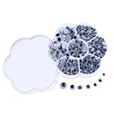 DECORA 700 Pieces Wiggle Googly Eyes with Self-adhesive DIY Scrapbooking Crafts Toy Accessories(Assorted Size)