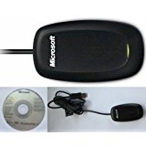 Xbox 360 Microsoft Authentic Wireless Pc Gaming Receiver for Windows (In Bulk Packaging)