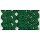 Wrights 117-400-044 Polyester Baby Rick Rack Utility Trim, Emerald, 4-Yard