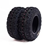 Set of 2 SunF A027 ATV Tire 22x7-11 Front, 6 Ply