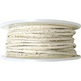 Wrights 183 9001-29A Cotton Piping, 50-Yard, 1/4-Inch, Natural