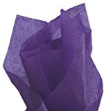 Purple Tissue Paper 15in X 20in - 100 Sheets