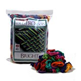 """Harrisville 10"""" Pro Bright Lotta Loops in Assorted Colors – Makes 8 Potholders"""