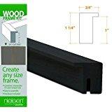 Nielsen Bainbridge Wood Frame Kits black 15 in.