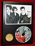 Cure LTD Edition Picture Disc CD Rare Collectible Music Display