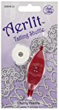 Aerlit Tatting Shuttle With 2 Bobbins-Cherry Vanilla