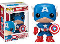 Funko Pop! Marvel Captain America Vinyl Bobble Head Figure
