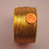 Gold Metallic Cord, 1mm X 144Yd