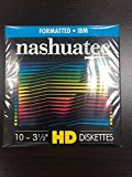"""New Nashuatec High Density HD 2-Sided 3.5"""" Diskette IBM Formatted 10 Diskettes Per Pack for storage data."""