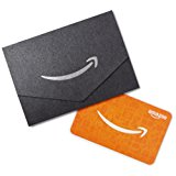 Amazon.com Gift Card for Any Amount in a Mini Envelope