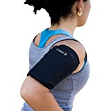 Phone Armband Sleeve: Best Running Sports Arm Band Strap Holder Pouch Case for Exercise Workout Fits iPhone 5S SE 6 6S 7 8 Plus iPod Android Samsung Galaxy S5 S6 S7 S8 Note 4 5 Edge LG HTC Pixel SMALL