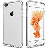 iPhone 7 Plus Case Clear, iPhone 8 Plus Case, Pajuva PC+TPU Transparent Case for iPhone 7/8 Plus Clear Case With Bumper (Clear)
