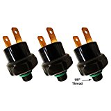 Viking Horns VPS-150 Air Pressure Switch, Rated 120/150, for Train Horns - Three unit Deal