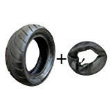 JCMOTO Tire and inner tube kit 110/50-6.5 fo 38cc 47cc 49cc Mini Pocket bike Dirt Pit Bikes