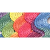 Wrights 117-404-001 Polyester Printed Rick Rack Trim, Rainbow, Jumbo, 2.5-Yard